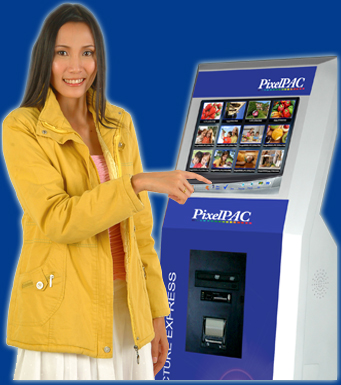 PixelPAC Kiosk Picture Express